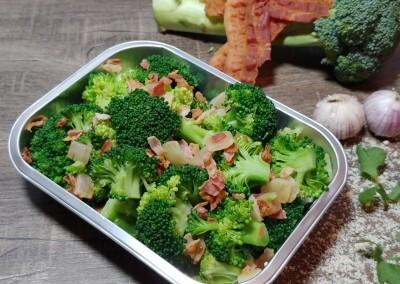 Brocoli bacon