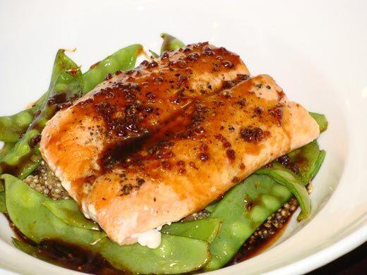 Filet de saumon asiatique